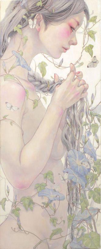 I´m in love with this. You can see Miho Hirano's portfolio at mihohirano.strikingly.com