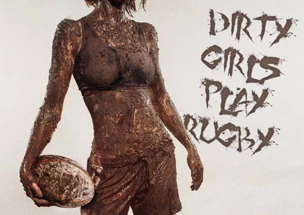 Dirty girls play rugby !