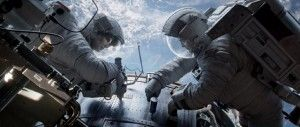 GRAVITY (with Sandra Bullock and George Clooney) - coming this fall. - http://www.forbes.com/sites/dorothypomerantz/2013/08/28/gravity-is-one-of-five-big-movies-to-watch-for-this-fall/