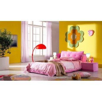 Детская #кровать розового цвета #ТАТАМИ #гдемебелькупить #купитьмебель #мебельмосква http://gdemebelkupit.ru/krovati/906-krovat-tatami-ae010.html