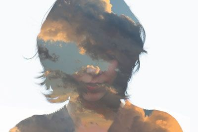 Head full of air / No. 001:   Collage by Matt Wisniewski using   photography by Derrick Leung.