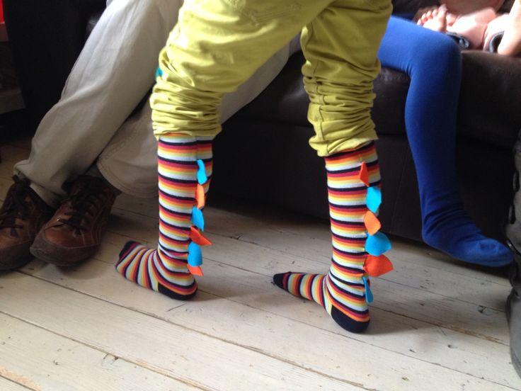 Dinosaur socks voor Hein