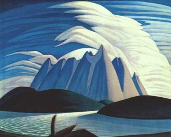 Lake and Mountains, Lawren Harris, The Group of Seven