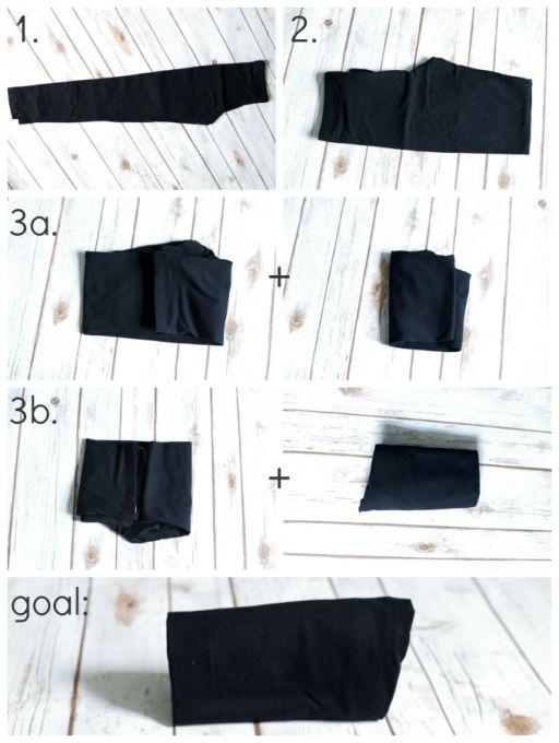 The KonMari Method Clothes Organization | JustAGirlAndHerBlog.com