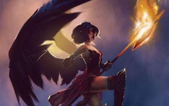 Fantasy - Angel Warrior Wallpapers and Backgrounds