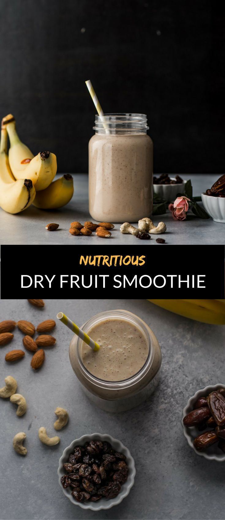 Dry fruit smoothie is a great way to combine nutritious milk and dry fruits to create a wholesome meal for any time of the day. This is a sponsored post.