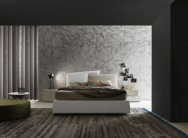 Schön Contemporary Style Upholstered Leather Storage Bed With Upholstered  Headboard Meeting_up Letti_beds Collection By Presotto Industrie Mobili