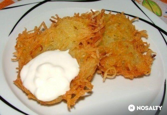 Berét-krumplis tócsni