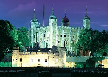 Tower of London. Home to the Crown Jewels. A step back into history with tales of muder and hauntings.