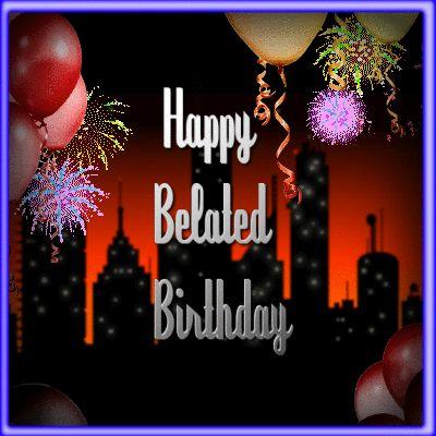 Best 25 Belated birthday ideas – 123 Greetings Belated Birthday