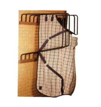 Deluxe Wall Mounted Blanket And Sheet Rack This Will Easily Hold Up To Five Of Your Heaviest Blankets Sheets The Making Barn Life Easier