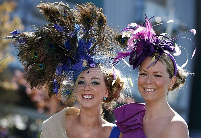 Ladies' Day at Aintree - in pictures