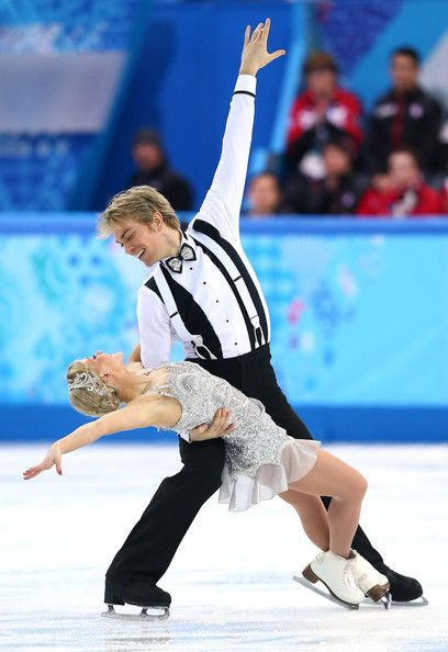 Penny Coomes and Nicholas Buckland of Great Britain compete in the Figure Skating Team Ice Dance - Short Dance during day one of the Sochi 2...