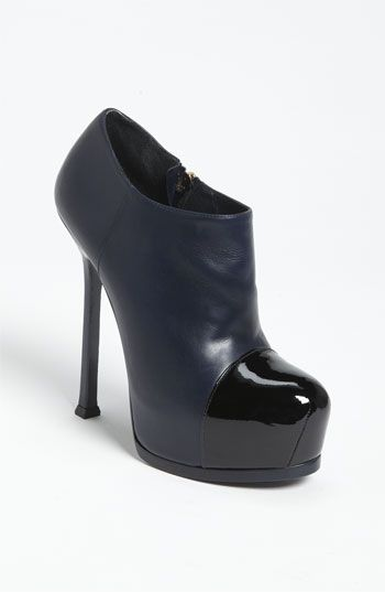 Beyond obsessed.  My fave YSL shoe in a bootie?!? 'Tribtoo' Platform Bootie   Nordstrom