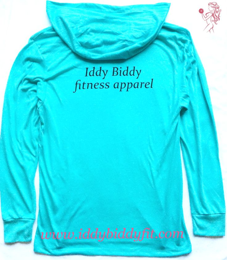$30 Iddy Biddy Fitness Apparel Signature Tahiti hoodie | active wear , fitness wear , spring fashion , athleisure