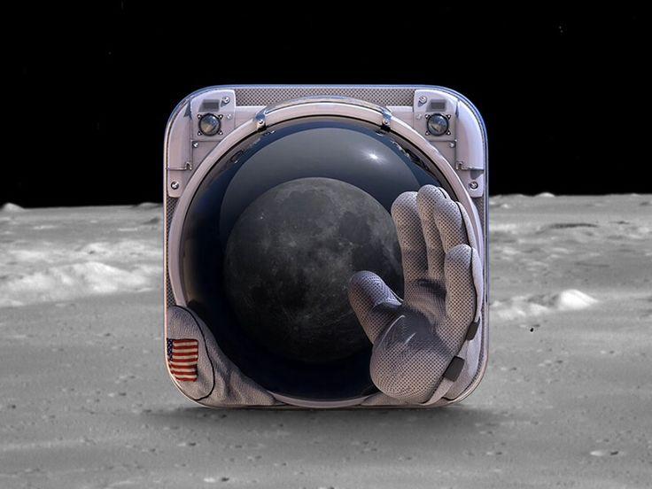 Astronaut app icon by Jivaldi