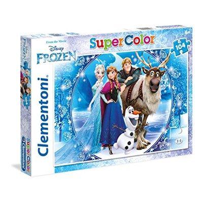 Chollo en Amazon España: Puzzle de 104 piezas Clementoni de Frozen por solo 5,38€ (un 26% de descuento sobre el precio de venta recomendado y precio mínimo histórico)