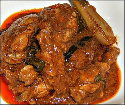 This is Rendang Chicken!