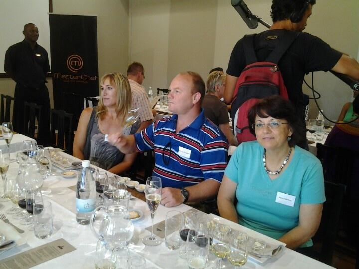 Wine tasting with Mommy @ Nederberg #Masterchefsa