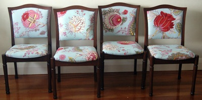 Beautiful Dining Seats Set of 6 FOR SALE NOW Chairs $265 ea. Carvers $280