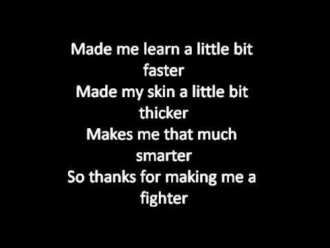 Fighter- christina aguilera