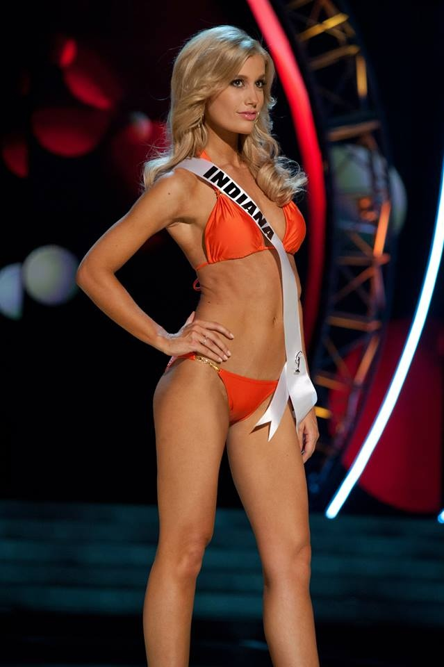 Emily Hart, Miss IN USA at the 2013 Miss USA Prelims ...
