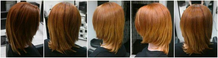 Ha az ősz színe megelevenedik a haj színben is :-) Ha szeretnél hasonlót, látogass el hozzánk. www.magdiszepsegszalon.hu/fodraszat