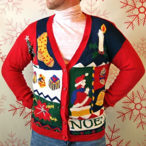 UGLY CHRISTMAS SWEATER PARTY WINNER!