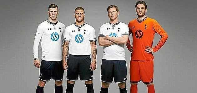 Tottenham kit 2013