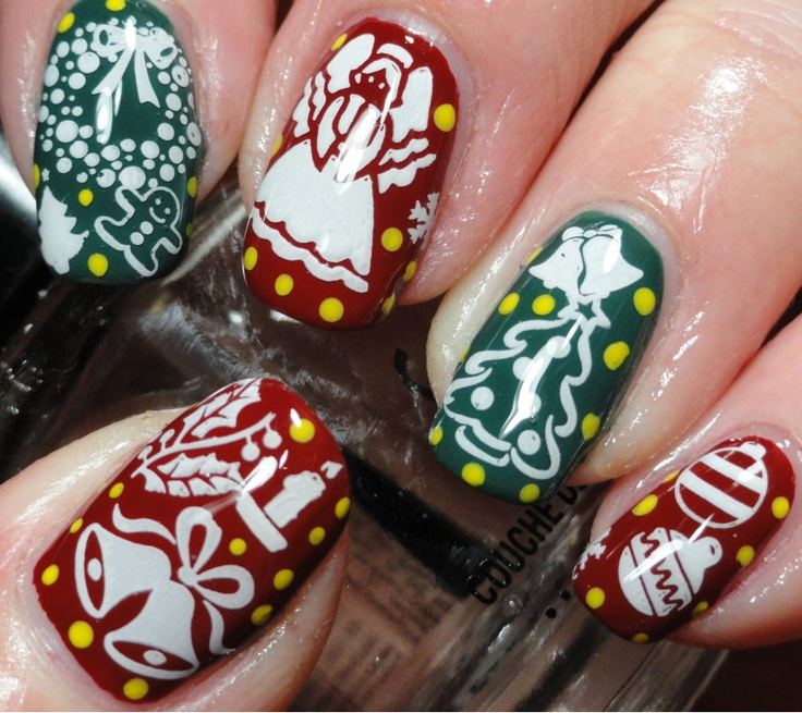 More Christmas Nails!