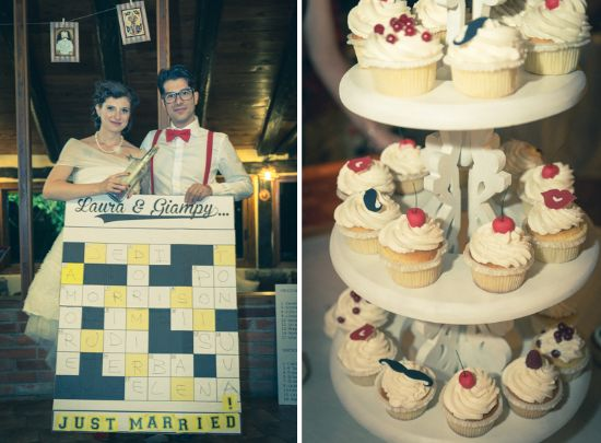 Funky Wedding: Real Wedding: Laura + Giampi