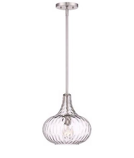 "Cora 11"" Mini Pendant Light. Over Island"
