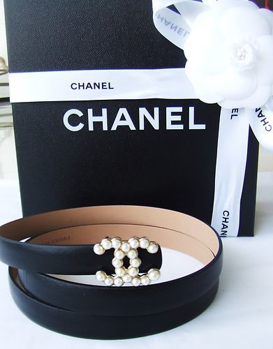 Chanel Pearl Belt Fashion Chanel Pearls Chanel
