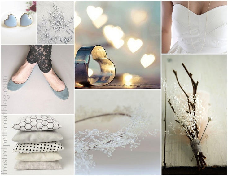 Modern winter hipster wedding