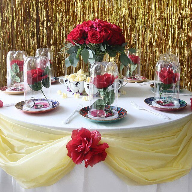 This Beauty and The Beast-Themed Birthday Party Is Nothing Short of Genius: Calling all Beauty and the Beast fans!