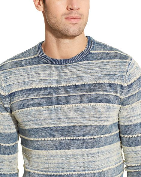 Indigo-Dyed Cotton Sweater - Polo Ralph Lauren   Sweaters - RalphLauren.com