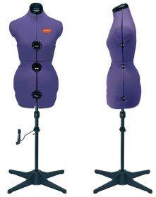 Manichino Prym M Prymadonna Taglia 48/50 52/54 Cod. Art. 611756 - Individualmente regolabile al collo, seno, vita e fianchi per mezzo di pressione.