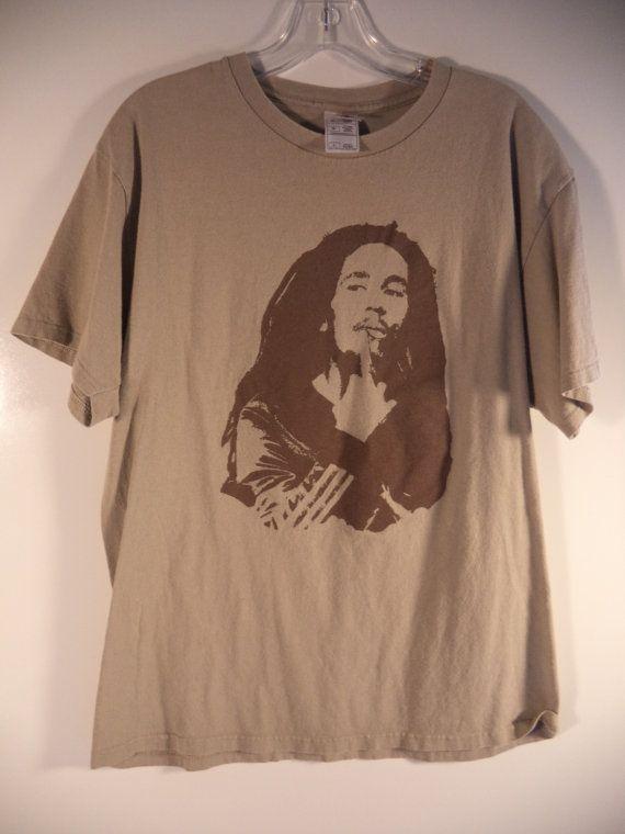 Vintage Bob Marley T-shirt// Reggae concert by reCOLLECTIONshopBGT
