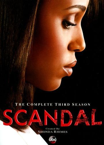 Scandal: The Complete Third Season [4 Discs] [DVD]