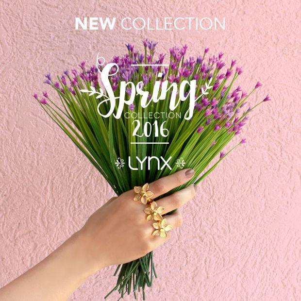 """""""Spring Collection 2016"""" #spring #newcollection #springcollection #ILoveLynx #flowers #jewelry"""