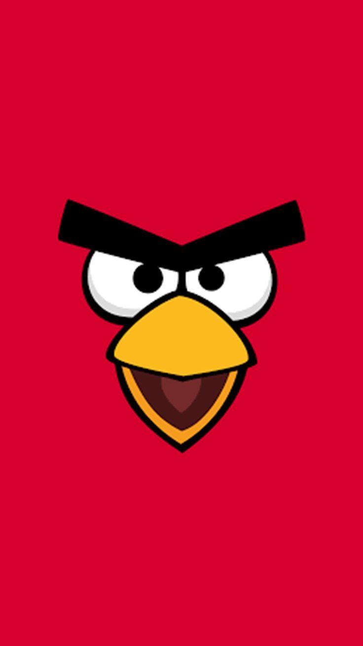 Angry Bird Iphone Android Duvar Kagidi