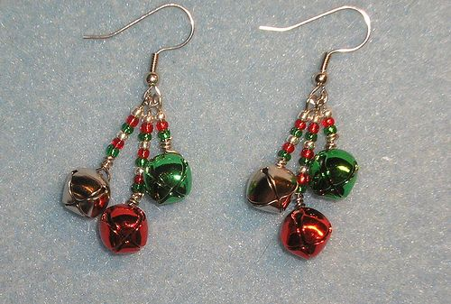 Handcrafted Christmas Earrings