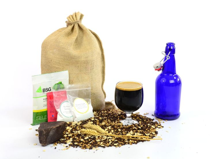 Handcrafted Homebrewing Kits - Chocolate Oatmeal Stout Recipe Pack – Box Brew Kits