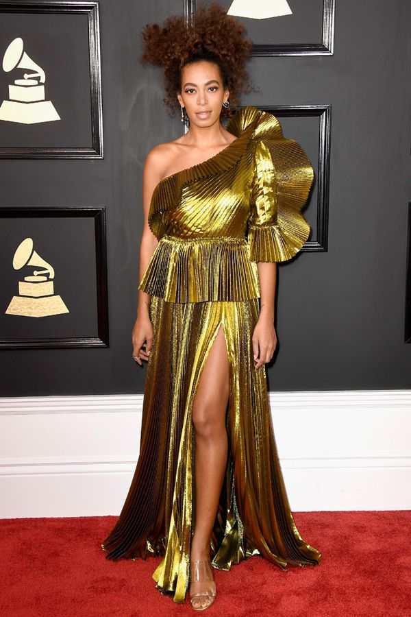 Solange Knowles in Gucci at Grammy 2017, Соланж Ноулз в Gucci Grammy 2017