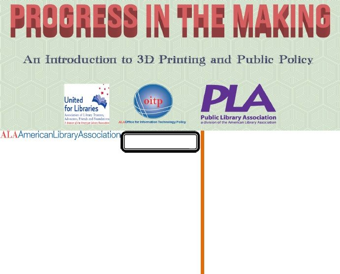 Introduction to 3D Printing and Public Policy