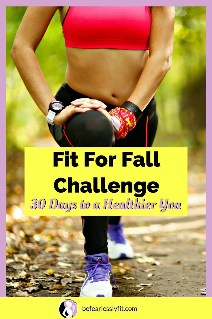 Fit For Fall Challenge Health Fitness Nutrition And Weight Loss Easy Workouts Workou