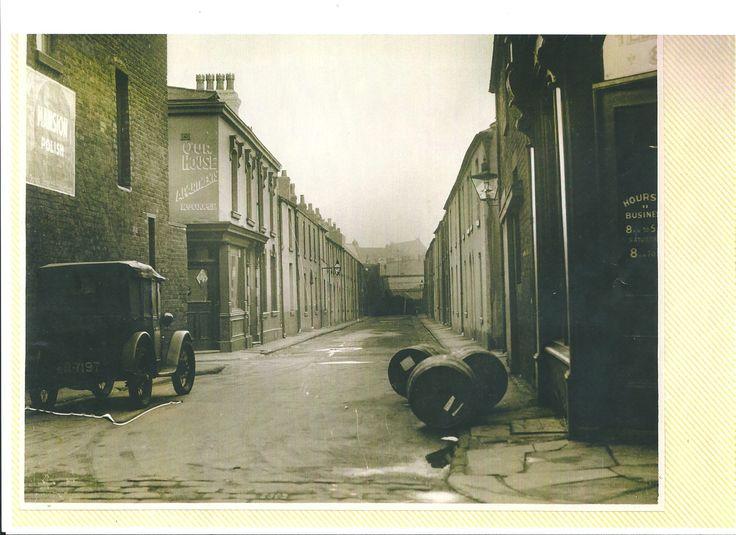 Oddfellow street Blackpool. Long gone.