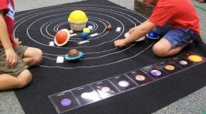 Make Your Own Solar System Mat by beatrice