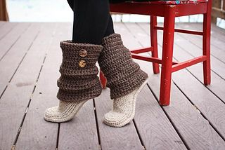 Audrey boots.... I want this pattern so bad!