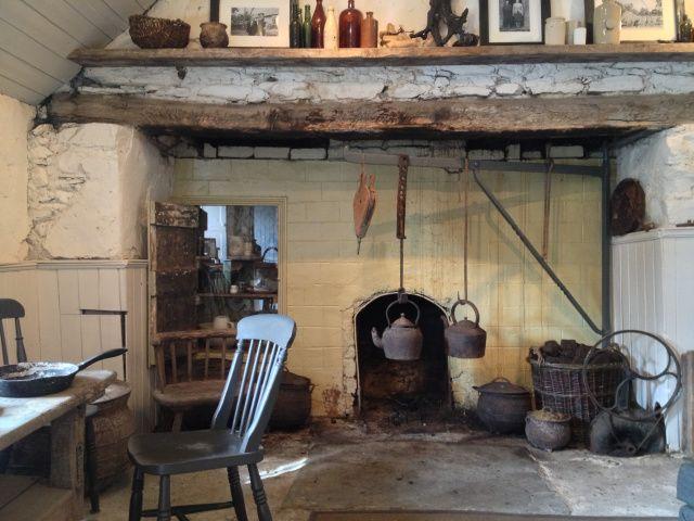 large old fireplace #Ireland | cottage living | Irish ...